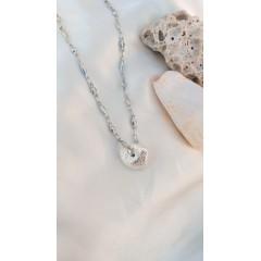 Silver Plated Sea Shell Pendant