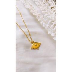 Helios Gold Pendant