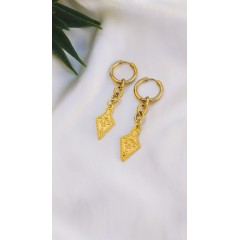 Indra Gold Hoops