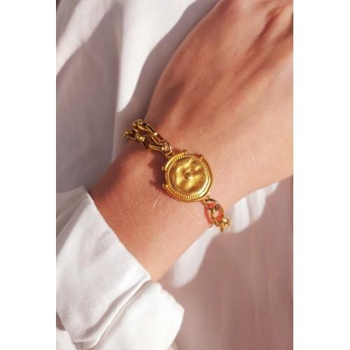 Ethnic Coin Bracelet